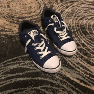 NWOT Blue Converse